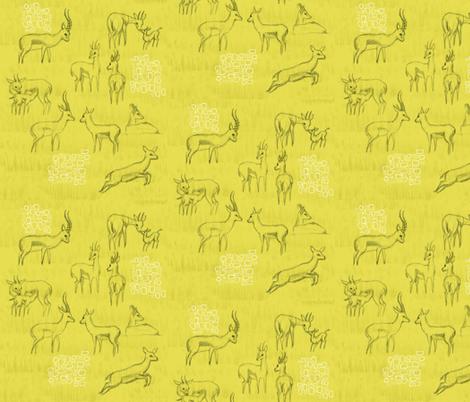 Pencil Sketch Blaze fabric by studiocharm on Spoonflower - custom fabric