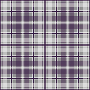 purple gray white plaid