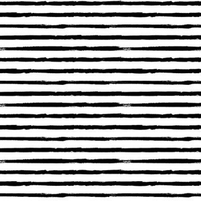 Small Scale Painted Black Stripes