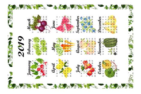 2019 Great Gardens fabric by sweetseasonsart on Spoonflower - custom fabric