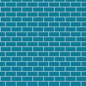 Brick Very Pale Grey & Eastern Blue