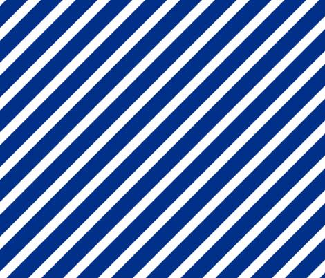 Duke Blue Devils Blue Stripes Stripe fabric by khaus on Spoonflower - custom fabric