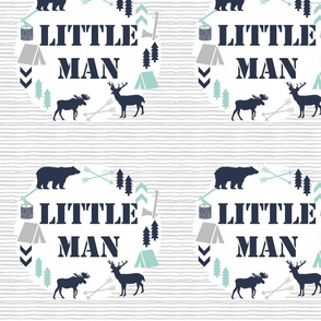"Little Man - 10"" Square"