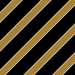 Wake Forest Demons Deacons Old Gold Black Stripes Stripe