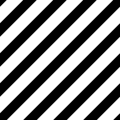 Diagonal Stripes | Black and White Collection fabric by mkokolo on Spoonflower - custom fabric