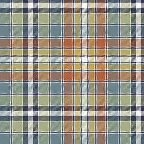 "Four Quarters tartan, 6"" bayeux palette"
