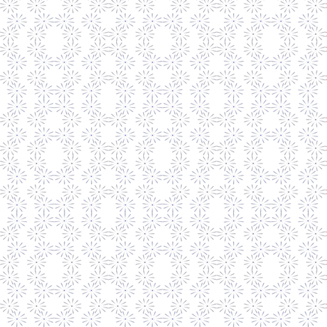 Spiky Lace fabric by fabcloth on Spoonflower - custom fabric