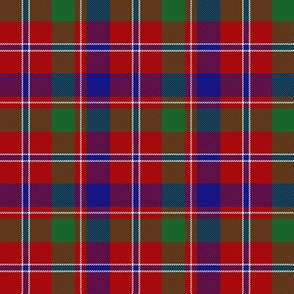 "MacDonald of Glenladale tartan, 3"" bright"
