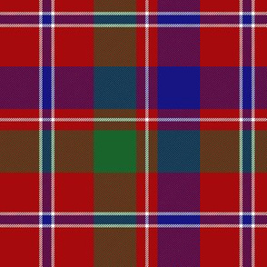 "MacDonald of Glenladale tartan, 6"" bright"
