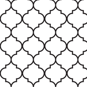 """2"""" Moroccan Quatrefoil Pattern 