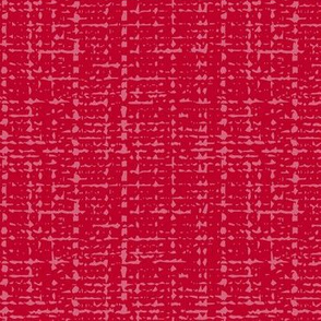 pink peppercorn fifties solid barkcloth texture