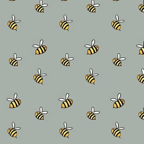 Bee's Knees tiny bees accent fabric