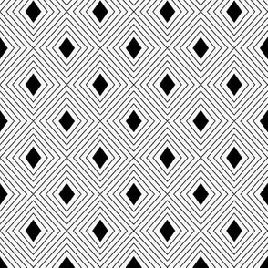 """2"""" Nesting Diamonds Pattern 