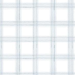 Blue White Plaid