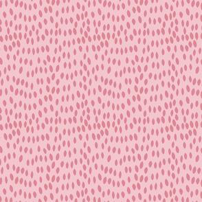 Retro Floral Pink Spots