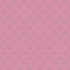 Retro Floral - Pastel Outline