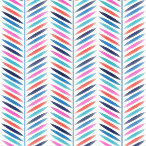 Laurel Leaf Herringbone Stripe Multi Color