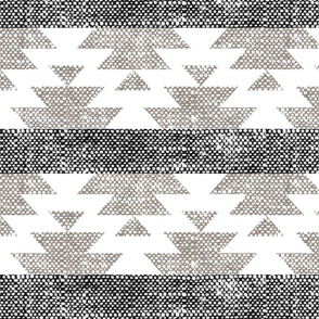(jumbo scale) woven aztec || neutrals
