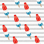 bomb pop - popsicle, ice cream, summer, popsicle, icee, ice, food, - grey stripes