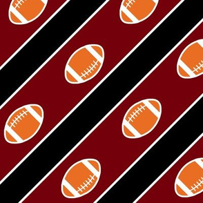 Football South Carolina Garnet Black