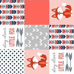 Coral Navy Fox PW