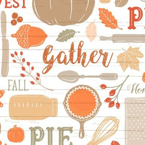 Bright Sing for Your Supper THANKSGIVING // Gather Round & Give Thanks - A Fall Festival of Food, Fun, Family, Friends, and PIE!