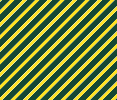 Oregon Green and Yellow Stripes fabric by khaus on Spoonflower - custom fabric