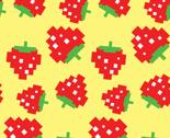 Pacman_strawberries_pattern_mulit_sizes_yellow-01_thumb
