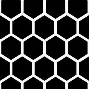 "1"" Honeycomb Hexagon Pattern 