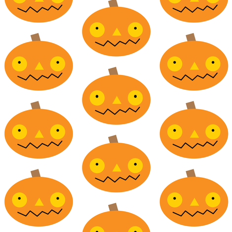 jack-o-lanterns fabric by lilcubby on Spoonflower - custom fabric
