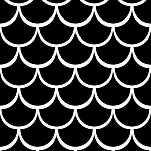 "2"" Fish Scale Pattern 