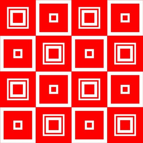 Abigail Anne: Brighter Red Squares