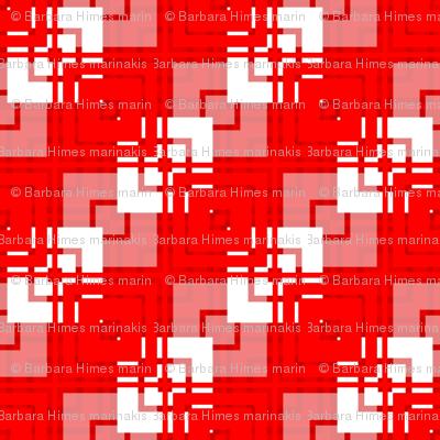 Abigail Anne: Layered Diagonal Squares