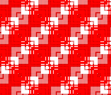 Abigail Anne: Layered Diagonal Squares fabric by tallulahdahling on Spoonflower - custom fabric