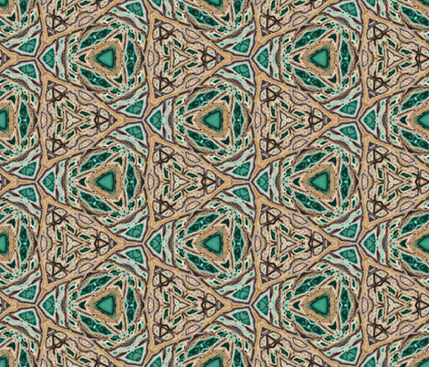Variscite 1 fabric by sewingscientist on Spoonflower - custom fabric
