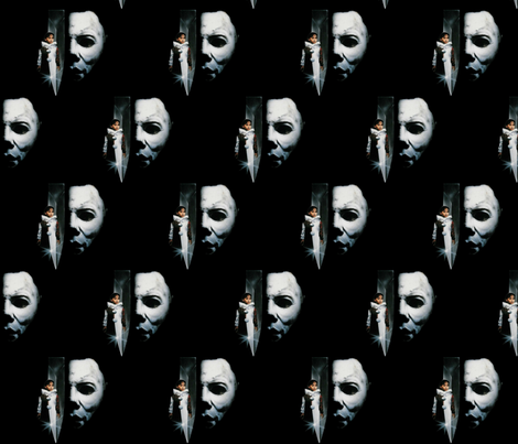 killer clown fabric by blackrose37 on Spoonflower - custom fabric