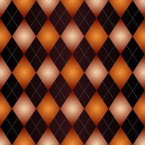 Deep Orange Diamond