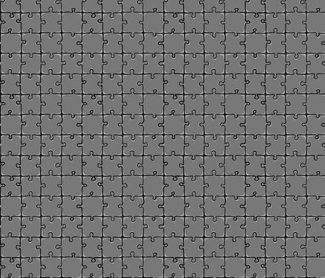 Puzzle fabric by #artbykarridi on Spoonflower - custom fabric