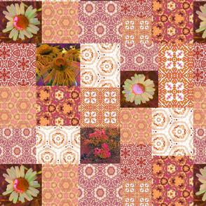 Patchwork Tie Dye Pattern