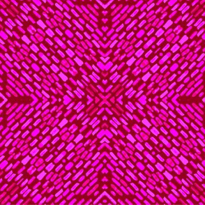 Woven Textured red and pink abstract