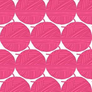 Yarn Stash  - Pink