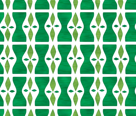 Hourglass fabric by beckarahn on Spoonflower - custom fabric