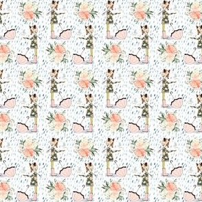 "2"" Spring Friends Rainfall"