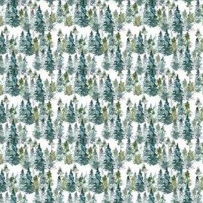 "2"" Woodland Trees"