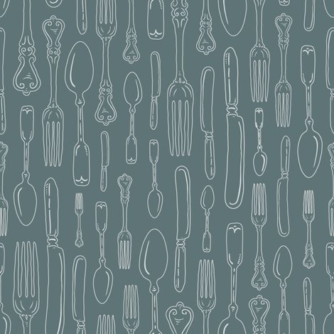 Rgray-green_reverse_outline_silverware_seaml_stock_shop_preview