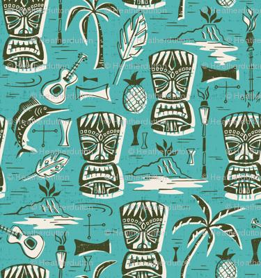 Tropical Tiki - Aqua