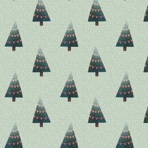 Christmas Trees - Holiday Fabric