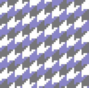 white gray lavender houndstooth