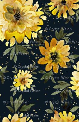 Sunflower Sprinkle black