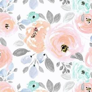 Isla Blush floral
